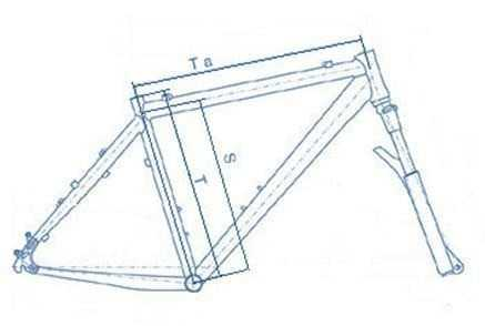 Ростовка рамы велосипеда и её выбор