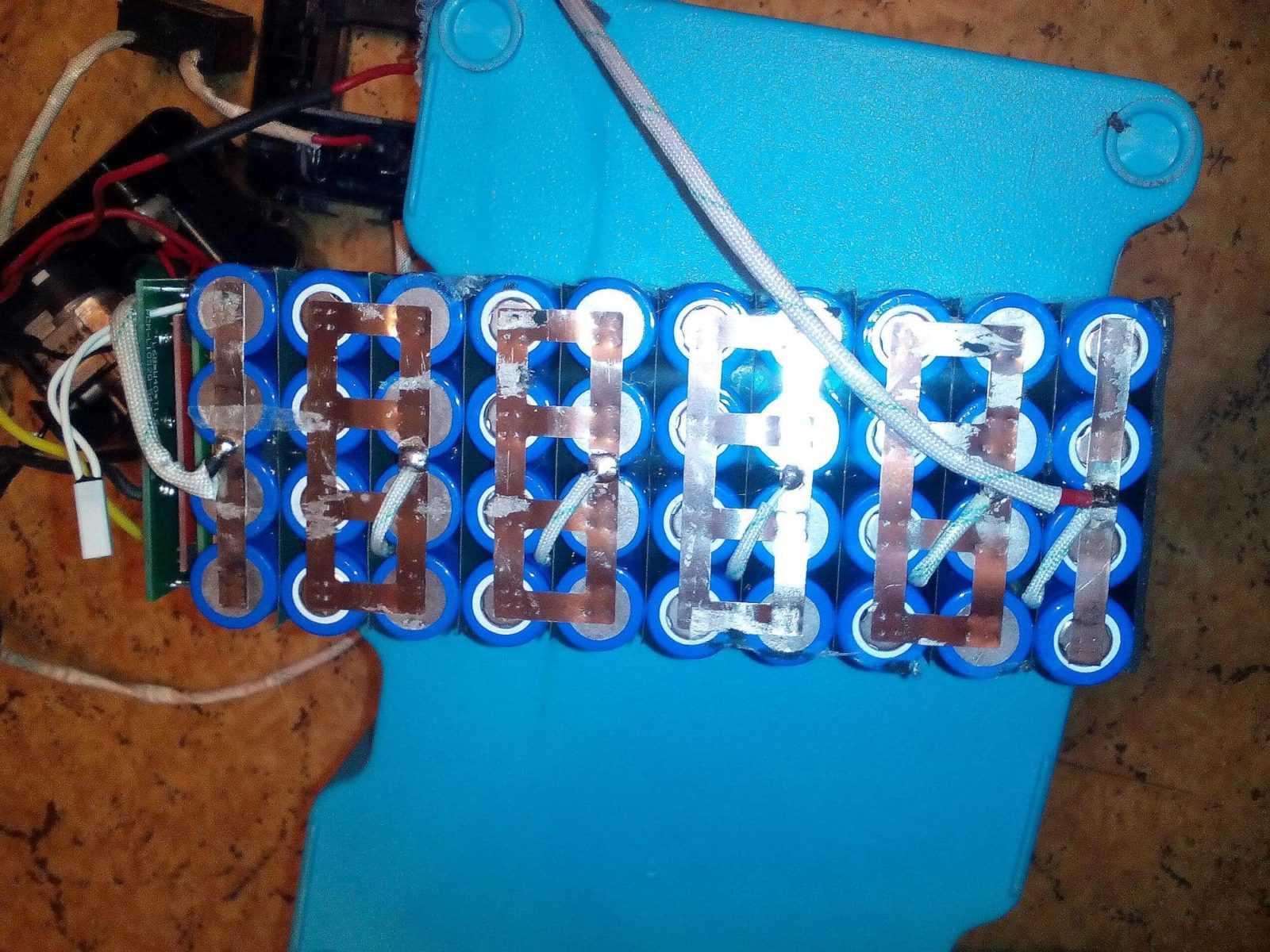 Устройство аккумулятора электровелосипеда (Li-ion аккумулятор)