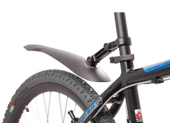 Как поставить крылья на велосипед?