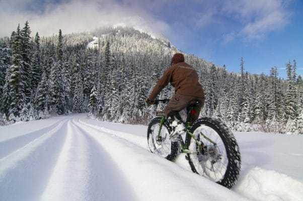 Фэтбайк или зимний велосипед