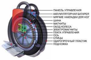 схема моноколеса
