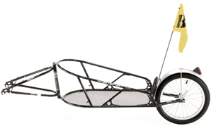 Какого типа бывают велоприцепы?