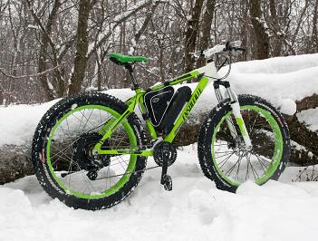 Электровелосипед для зимы