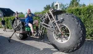 тяжелый велосипед