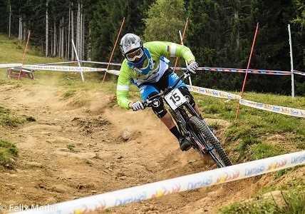 Downhill – скоростной спуск на горном велосипеде