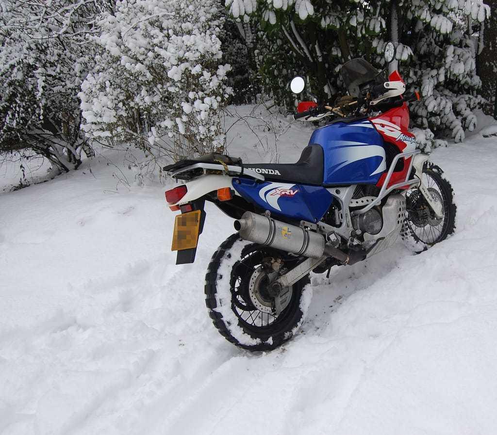 Зимой на мотоцикле. Реальность или фантастика?