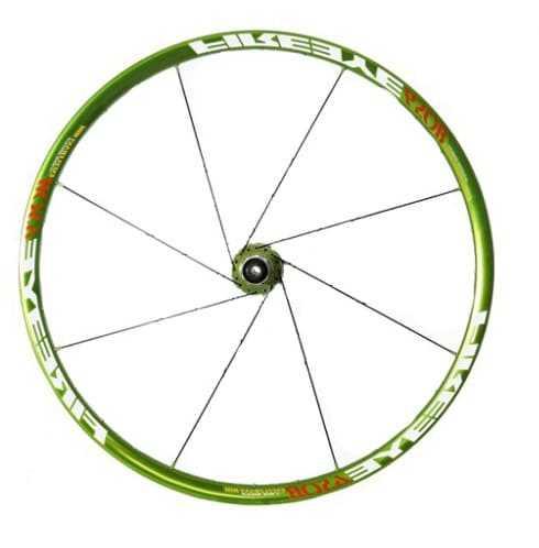 спицовка колеса один фланец