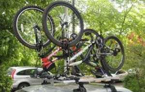 велосипед в корзине